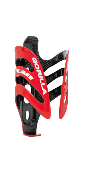 XLAB Gorilla Cage Flaskhållare röd/svart